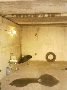 В гараже бежит вода - зонт не поможет
